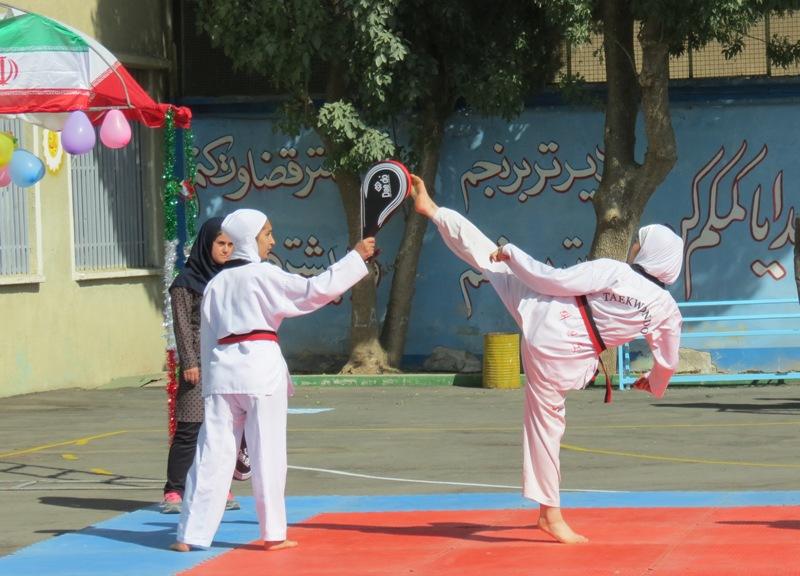 المپیاد ورزشی، دانش آموز، استعدادیابی، شناسایی استعدادها، آموزش و پرورش، محمد برومند، مدرسه حجاب، سومین المپیاد ورزشی درون مدرسه ای